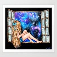 Window Sill Art Print