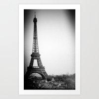 Paris'2 Art Print