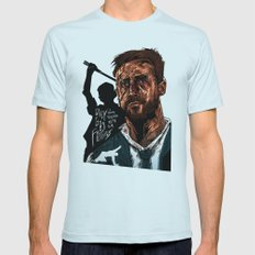 Only God Forgives Mens Fitted Tee Light Blue SMALL