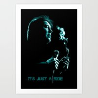 Bill Hicks 1961-1994 – It's Just A Ride Art Print