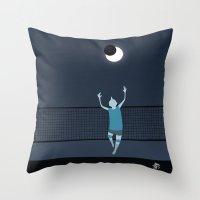 Moon Riser Throw Pillow
