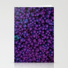 Purple succulents Stationery Cards