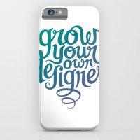 Grow Your Own Designer iPhone 6 Slim Case