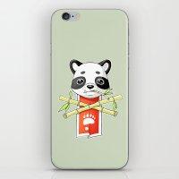 Panda Banner iPhone & iPod Skin