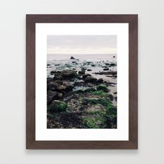 El Pescador Beach, California Framed Art Print