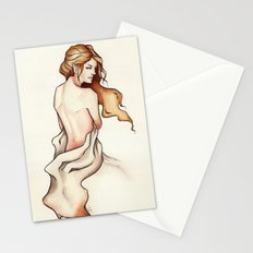 Draped Nude Elf Stationery Cards