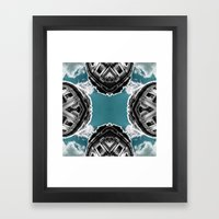 hjkh Framed Art Print