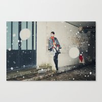 Snowscape III Canvas Print