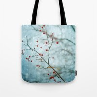 Snowberry Tote Bag