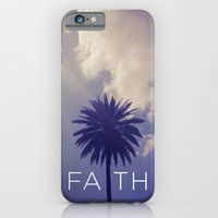 iPhone & iPod Case featuring Palm Tree Faith by Goldfish Kiss