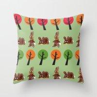 Watership Down Rabbits, … Throw Pillow