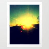 Kryon of Light Art Print