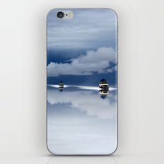 Traveling through the sky iPhone & iPod Skin