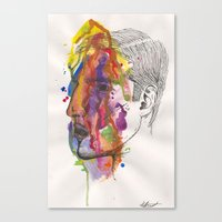 Breathe In Colour Canvas Print