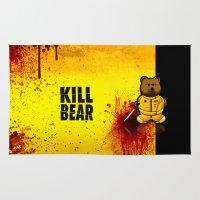 KILL BEAR Rug