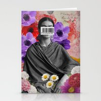 Public Figures Collection -- Frida by Elo Stationery Cards