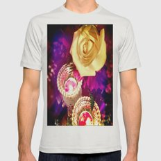 Enchanted & Wonderstruck Mens Fitted Tee Silver SMALL