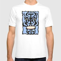 Queequeg Mens Fitted Tee White SMALL