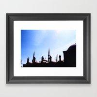 Mosque Framed Art Print
