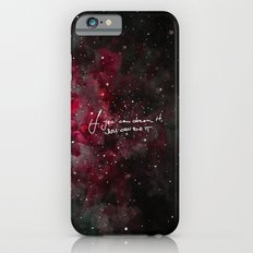 You can do it-red iPhone 6 Slim Case