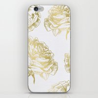Roses Gold iPhone & iPod Skin