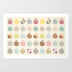 apples galore Art Print