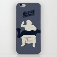 Empire strikes back iPhone & iPod Skin