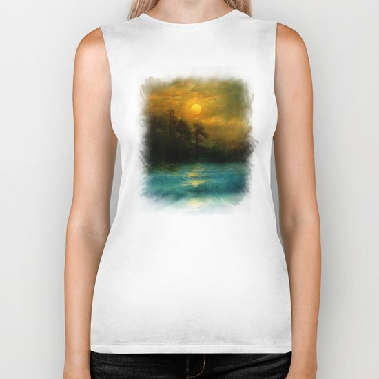 Hope, in the turquoise water. Biker Tank