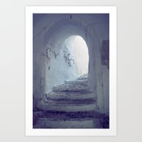 Light At The End Of The … Art Print