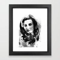 BB (Bleak Beauty) Framed Art Print