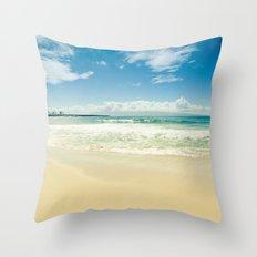 Kapalua Beach Honokahua Maui Hawaii  Throw Pillow