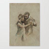 [La Dance] Canvas Print
