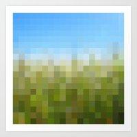 Nature Pixels No 29 Art Print