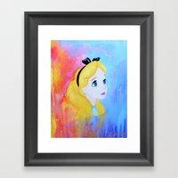 In Wonderland Framed Art Print
