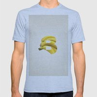 B. Mens Fitted Tee Athletic Blue SMALL