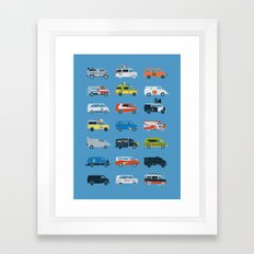 It Would Have Been Cooler as a Van Framed Art Print