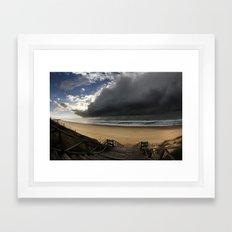 Storm Coming Framed Art Print