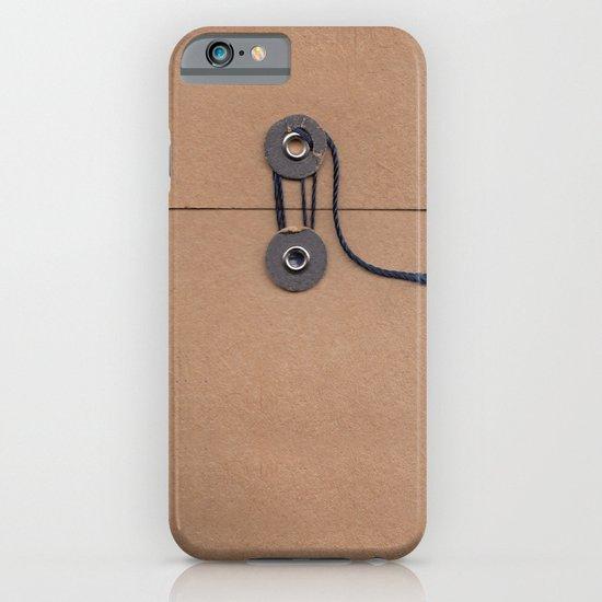 Camo Series - kraft envelope iPhone & iPod Case