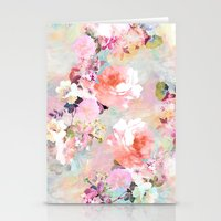 flowers Stationery Cards featuring Love of a Flower by Girly Trend