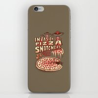 Invasion of the Pizza Snatchers iPhone & iPod Skin