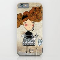 iPhone & iPod Case featuring Alice in Wonderland by Kristina Sabaite