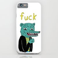iPhone & iPod Case featuring F%$* by Michael Seymour Blake