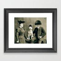 METALUNGIES Framed Art Print