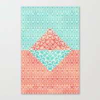 Retro Optical Fantasia Canvas Print