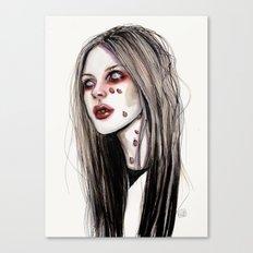 Avril - Under my skin Canvas Print