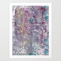 sentimental journey Art Print