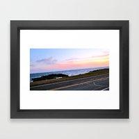 Newport, Rhode Island Sunset Framed Art Print