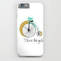I love bicycle iPhone 6 Slim Case