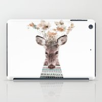 in nature deer iPad Case