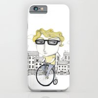 iPhone & iPod Case featuring Biking by Sonia Puga Design